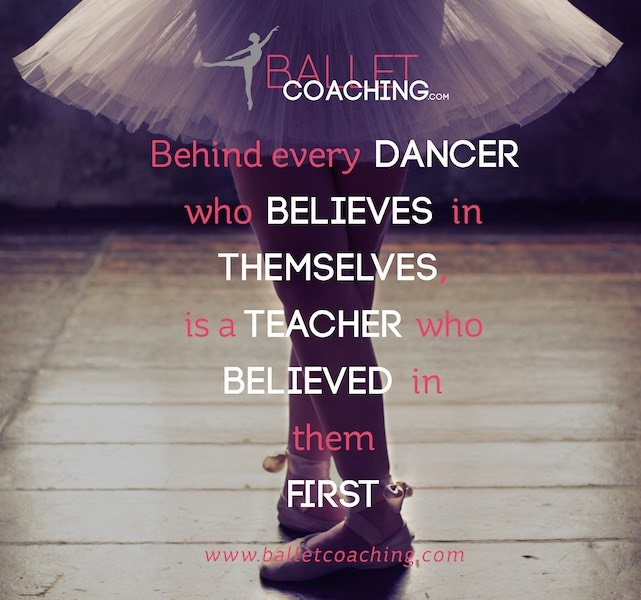Balletcoaching.com is EVOLVING