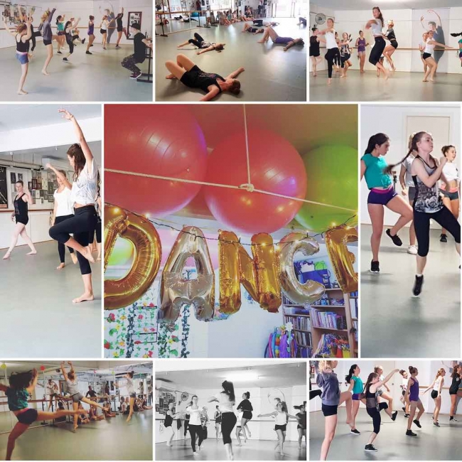 Grand opening of The Dance Warehouse
